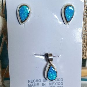 🆕⛱️ Mexico Sterling Silver Set